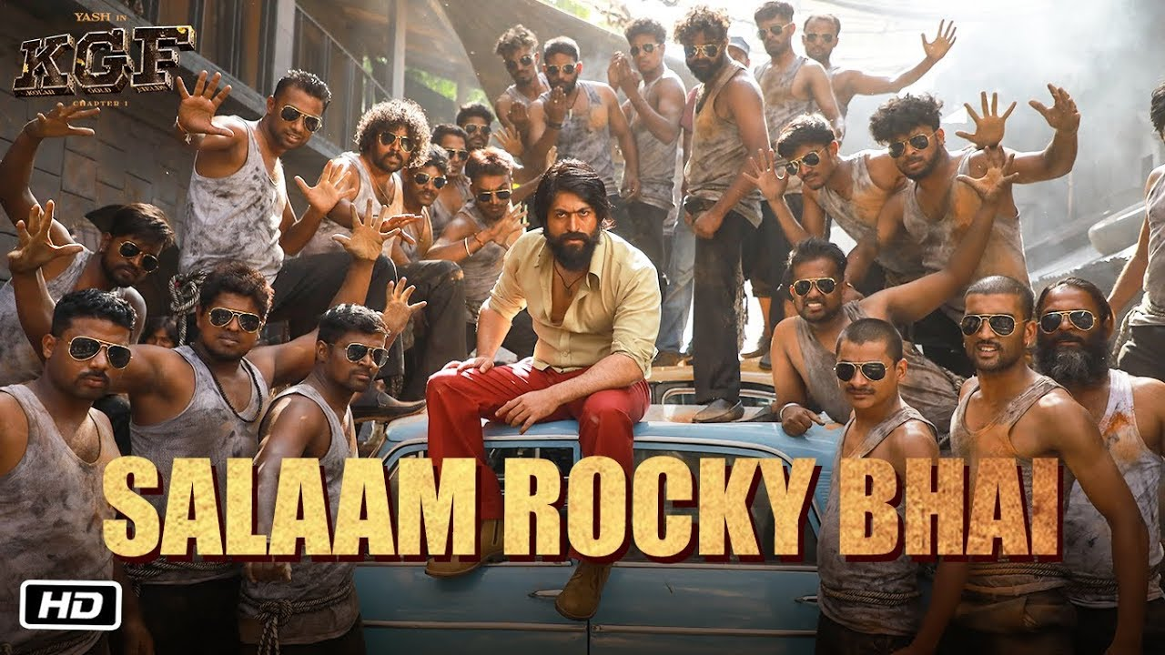 Salaam Rocky Bhai Kgf Chapter 1 Yash Srinidhi Shetty