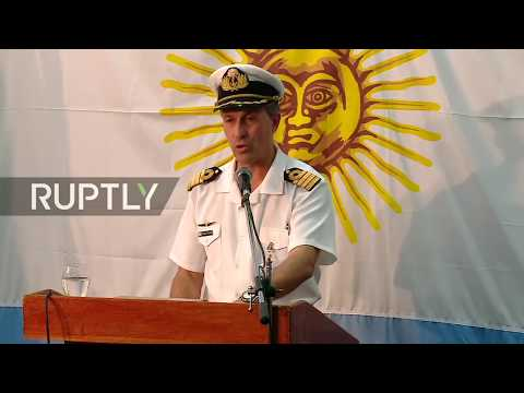 LIVE: Argentine Navy delivers latest update on missing submarine