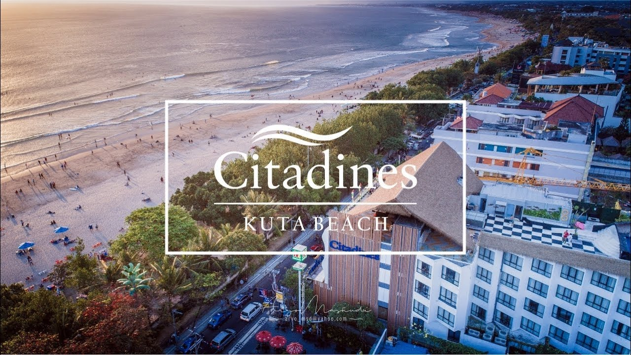 Citadines Hotel Kuta Beach Bali Youtube