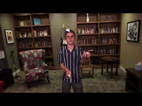 Sean Giambrone Juggles forRMHC