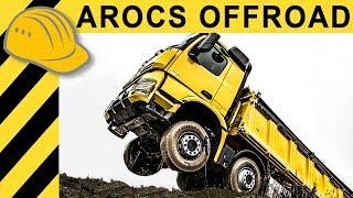 Schafft ein LKW 60% Steigung? AROCS 8x8 Test im Mercedes Offroad Testgelände