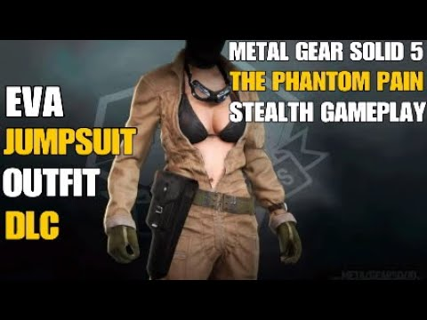 MGSV TPP: MGS3 Eva Jumpsuit Outfit Showcase - Extreme Stealth Gameplay |