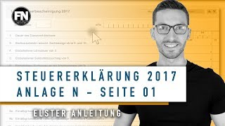 Додаток N 2017 заповнення | податкова декларація 2017 самостійно | сторінка додаток N 1 підручник-Ельстер 2017