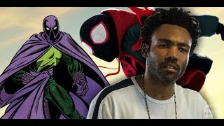 Spider-Man (Donald Glover) Meets the Prowler (Donald Glover)
