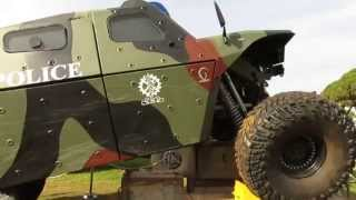 Israel Hls 2014 Homeland Security Review – Imi   Combat Guard   Multi Role All Terrain Armord Wheele
