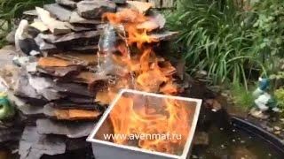Огнеупорное ведро-вставка в уличные урны компании Авен(, 2014-11-07T08:20:00.000Z)
