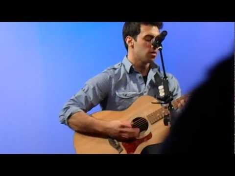 "Sam Brenner performing ""Fly Away"""