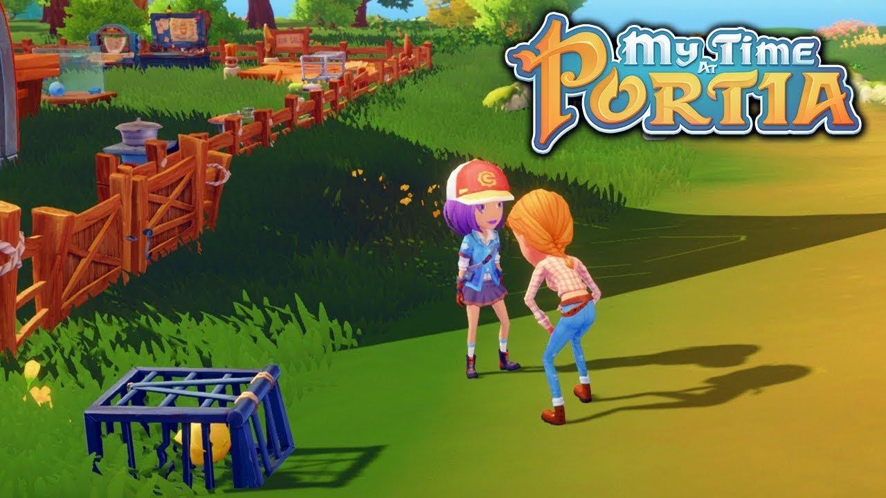 Chasing Chickens My Time At Portia Alpha 40 Part 65 Youtube