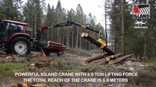 Igland 450 Swingtrac Timber Trailer