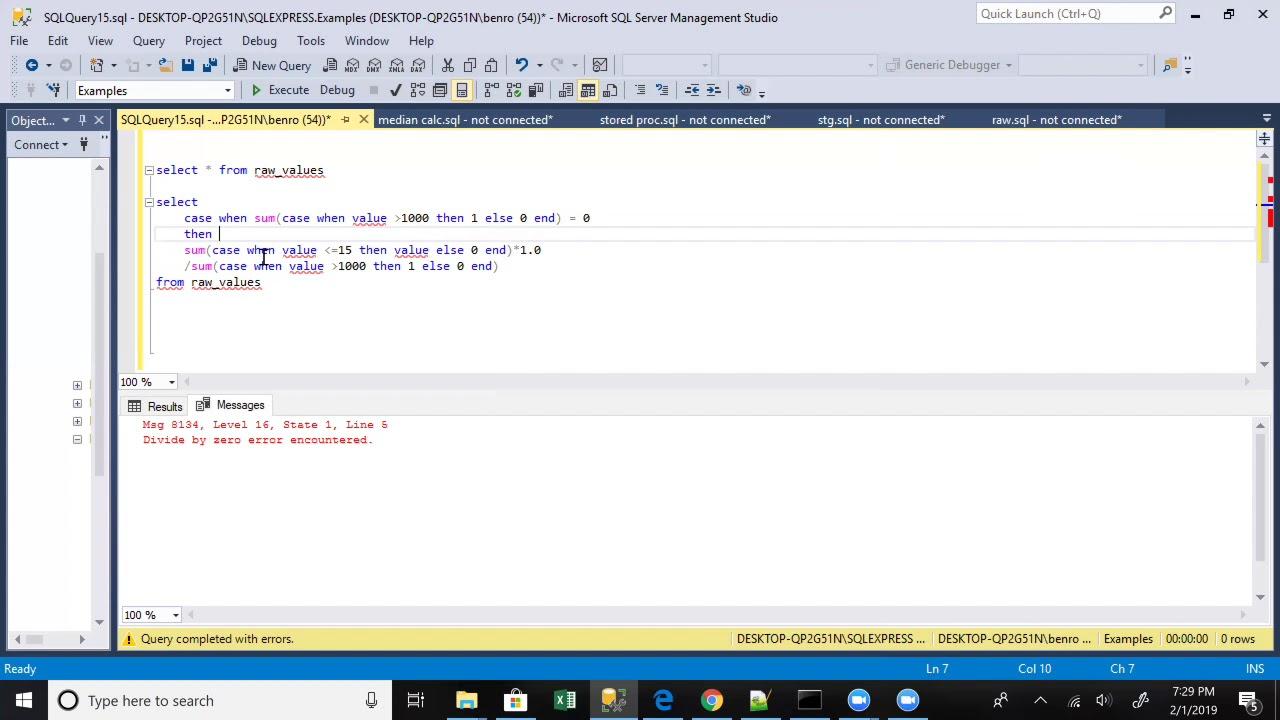Avoid Divide By Zero Errors In SQL - SQL Best Practices