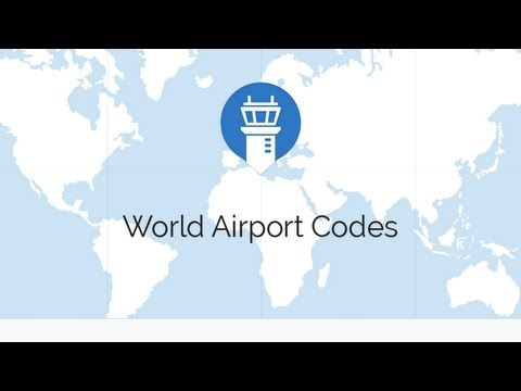 World Airport Codes