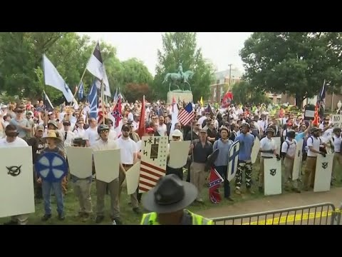 Tensions escalate as hate groups proliferate in America