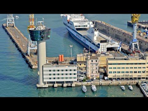 Torre piloti Genova (Genoa pilots tower), Port of Genoa, Gen