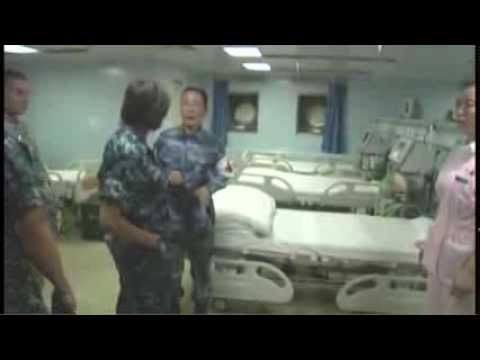U.S. Pacific Command Surgeon Visits Chinese Medical Ship 'Peace Ark'