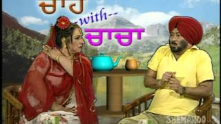 Jaswinder Bhalla Punjabi Comedy Play - Chacha As Show Host - Punjabi Comedy Jokes