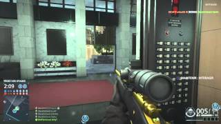 Battlefield Hardline Sniping Highlights #2 (agressive recon BFH)