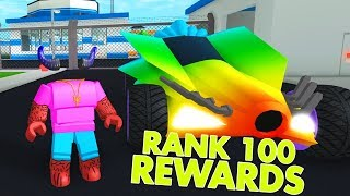 RANK 100 REWARDS ON MAD CITY UNLOCKED!!! (Roblox)