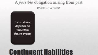 ias 37 provisions contingent liabilities and contingent assets