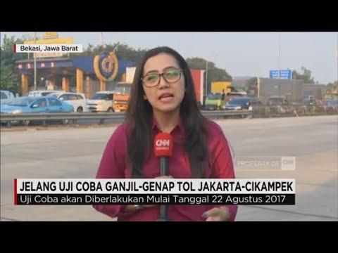 Live Report: Jelang Uji Coba Genap Ganjil Tol Jakarta - Cikampek
