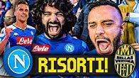RISORTI!!! NAPOLI 2-0 HELLAS VERONA | LIVE REACTION SAN PAOLO HD