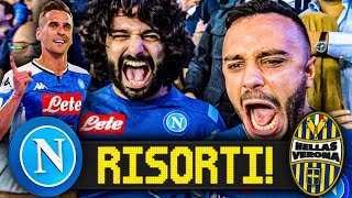 RISORTI!!! NAPOLI 2-0 HELLAS VERONA | LIVE REACTION SAN PAOLO HD