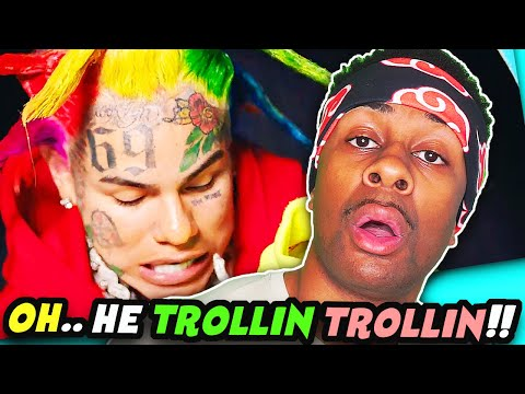 6IX9INE- TUTU (Official Music Video) REACTION
