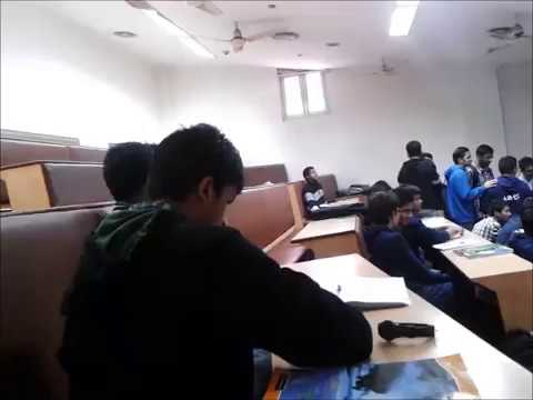Inside the classroom in AIIMS, New Delhi by AIIMS in Veins.