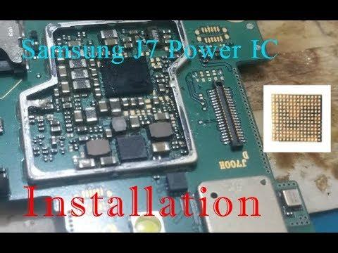 Samsung J7 Power IC Remove/Installation