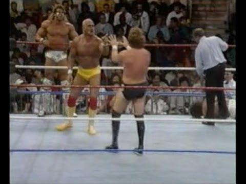 Survivor Series 1990: Hulk Hogan, Ultimate Warrior and Tito Santana vs The Million Dollar Man's team