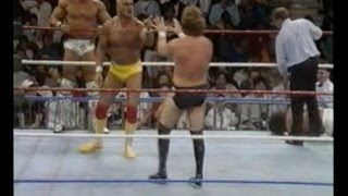 Survivor Series 1990: Hulk Hogan, Ultimate Warrior and Tito Santana vs The Million Dollar Man