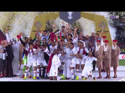 تتويج العنابي بكأس بطولة الأمم الآسيوية 2019