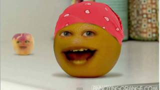 Annoying Orange: Full Kitchen Intruder Song - SPEED UP