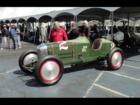 1923 Miller 8 Cylinder Indianapolis Indy Racer Race Car # 2 on My Car Story with Lou Costabile
