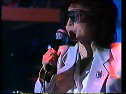 Yoko Ono - Hell In Paradise + Give Peace A Chance - live Mensch Meier German TV 1986