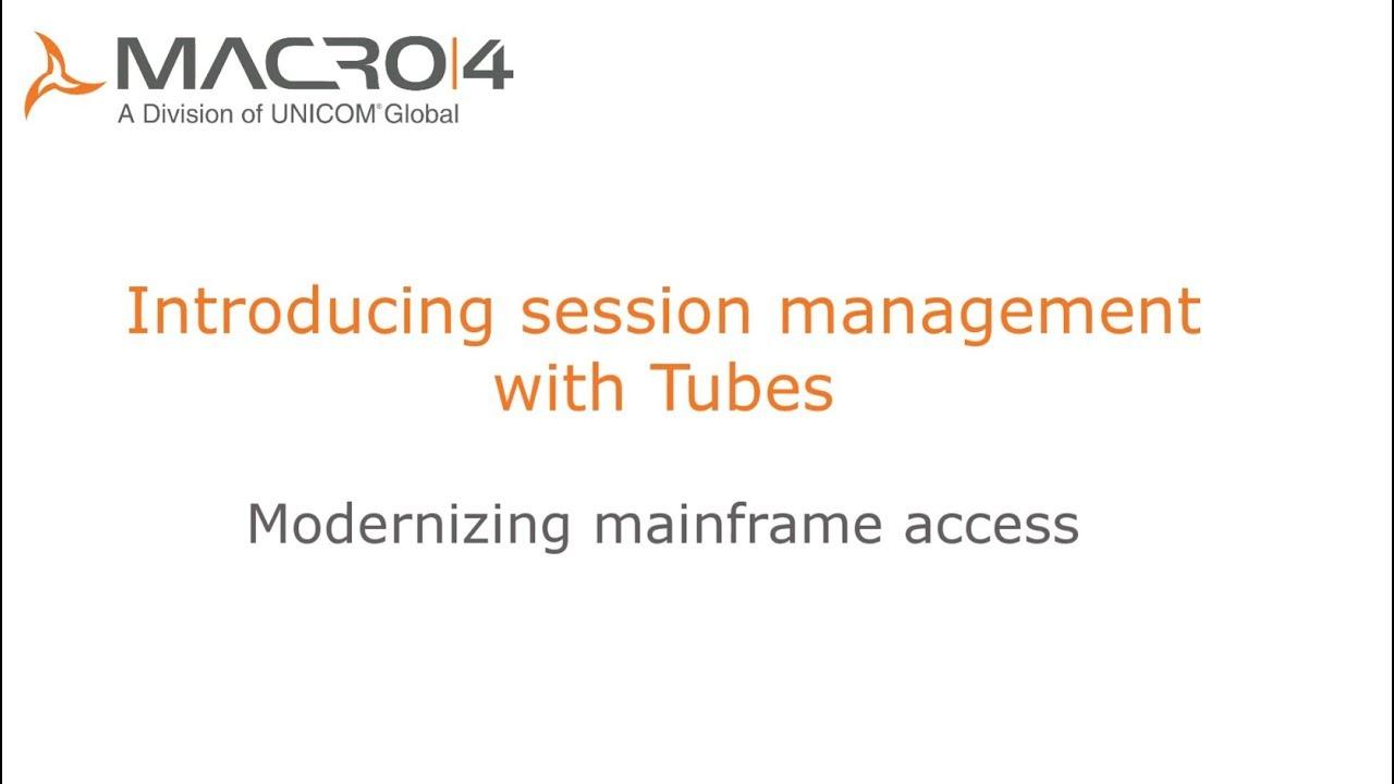 Macro 4 :: Tubes for z/OS
