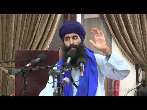 "Bhai Sukha Singh (UK) - ""True Friendship"" - Katha in English & Punjabi - Fremont"