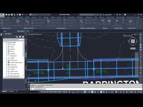 Simplifying Civil 3D Corridor Modeling Using Contextual Tools