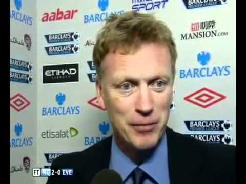 Everton manager David Moyes on his side's defeat against Manchester City.