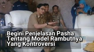 VIRALLL!!! Klarifikasi Pasha (Wawalikota Palu) mengenai model rambutnya