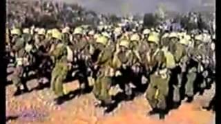 El himno militar los  comandos ya se van