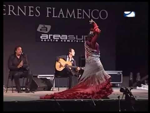 Emilio Florido con Claudia Cruz - Viernes Flamencos, Jerez 2013