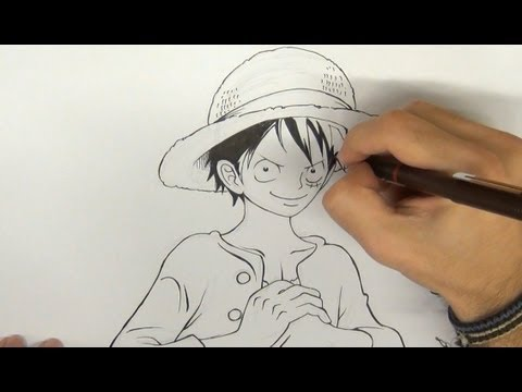 Dibujar a luffy de one piece how to draw monkey d luffy for Dibujos one piece