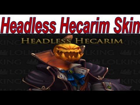 League Of Legends - 'Headless Hecarim Skin' Spotlight Gameplay No Commentary
