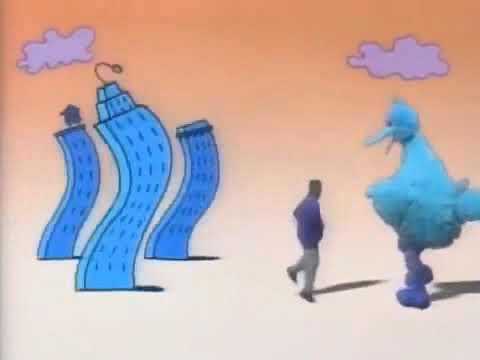 Sesame Street - Season 25 End Credits (1993-1994) in RGB to BGR