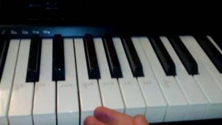 Как сыграть на синтезаторе песню С Днём Рождения Тебя(урок 2)