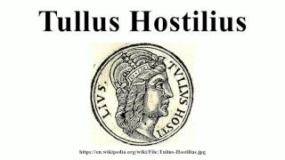 Tullus hostilius wife sexual dysfunction