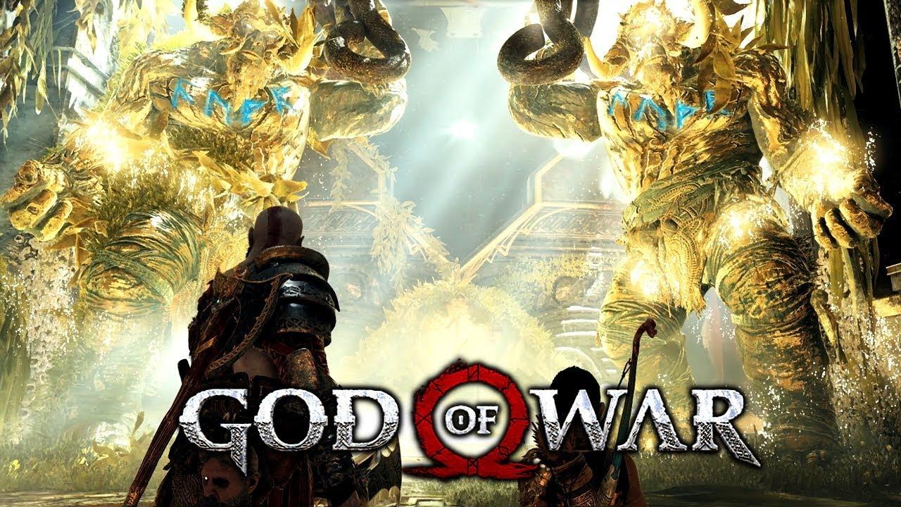 God Of War 29 Den Tempel Kippen Tyrs Prüfung Absolvieren Lp