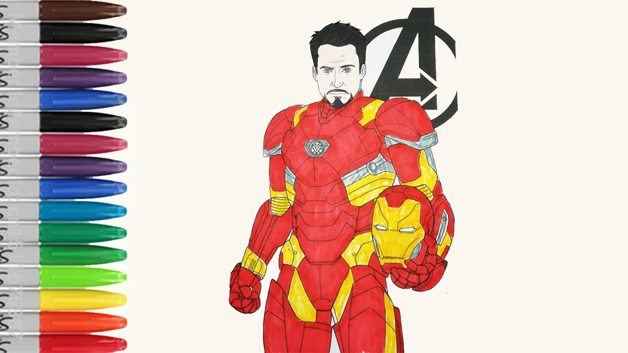Ironman Is Free Head Coloring Pages Ironman 3 Fun Pages