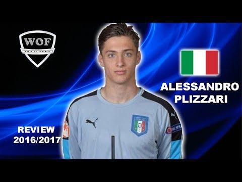ALESSANDRO PLIZZARI | AC Milan | Best Saves & Overall Goalkeeping | 2016/2017  (HD)
