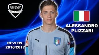 ALESSANDRO PLIZZARI | AC Milan | Best Saves & Overall Goalkeeping | 2016/2017  (HD)